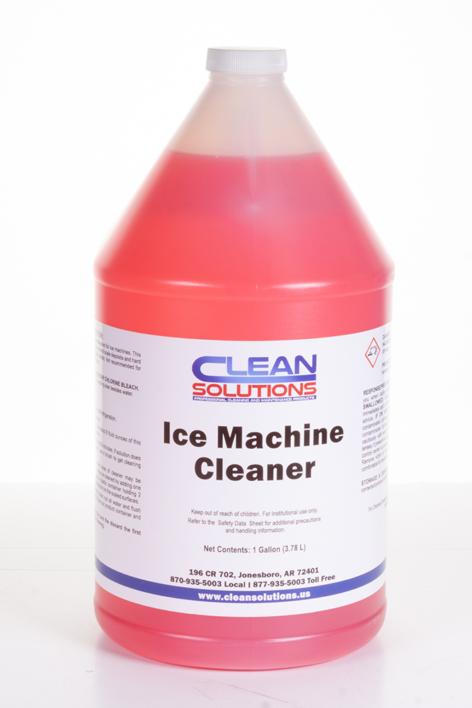 UN 3264, Corrosive Liquid, Acidic, Inorganic, N.O.S., (Contains Phosphoric Acid), Class 8, PG II, 1 Gal Jug Emergency Contact: 870-935-5003 *** Ice Machine Cleaner, 4/CS Sold Each ***