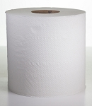 Center Pull White Hand Towels 2 Ply Perforated - 600 Sheets/Roll - 6 Rolls/CS - Sold Case