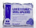 Stainless Steel Scrubber - 12/Pack - 12 Packs/CS - Sold Pack