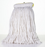 Sno-White Cut End Finish Mop - Size 12 Oz With Sta Flat Headband - 12/CS - Sold Each