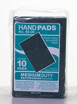 Pad Utility Hand #96 Green - 10 Pads/Pk - 6 Pk/CS - Sold Pack
