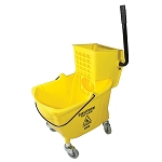 Impact Side Press Wringer and Bucket - 26-35 quart - Yellow