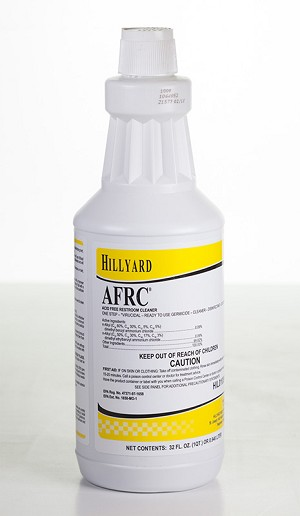 AFRC Acid-Free Restroom Cleaner - 1 quart - 12/CS - Sold Each
