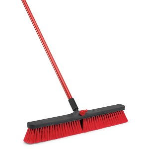 "24"" Multi Sweep Threaded Push Broom-Complete Set, 4/Case, Sold Each"