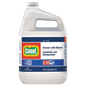 Comet Cleaner with Bleach, Liquid, One Gallon