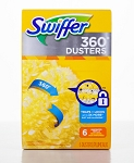 Swiffer Duster 360 Refill Unscented 6 Dusters/Pack - 4 Packs/Case - Sold Pack