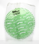 Cucumber Melon Wave Urinal Screen - 10 Screens/Box - 6 Box/CS - Sold by Box