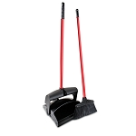 Lobby Broom And Dust Pan Set (Closed Lid), 2/Case, Sold Each