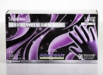 Black Nitrile Powder Free Exam Gloves - Large - 100 Gloves Per Box - 10 Boxes Per Case - Sold Box