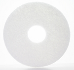 "12"" White Pads - 5/CS - Sold Case"