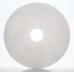 "17"" White Pads - 5/CS - Sold Case"