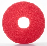 "12"" Red Pads - 5/CS - Sold Case"