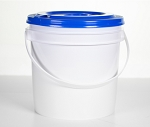 7 inch Replacment Bucket With Lid For Chemwipe System, Sold Each