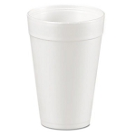 Foam Drinking Cup- 32Oz - White - 25/Bag - 20 Bags/CS - Sold Case