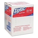 Ziploc Double Zipper Plastic Bags, 1 Quart, 500/Box, Sold Box