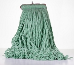Comet Blend Cut End Wet Mop - Green - Size 24 Oz - Sta Flat Headband - 12/CS - Sold Each