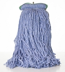 Comet Blend Cut End Wet Mop - Blue - 16 oz - Sta Flat Headband - 12/CS - Sold Each