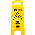 Caution Wet Floor Sign -  2 Sided - 6/CS - Sold Each