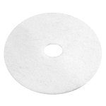 "14"" WHITE PADS 5/CS, SOLD CASE"